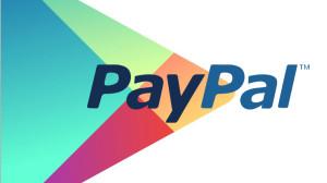 Google Play aggiornamento PayPal grafica